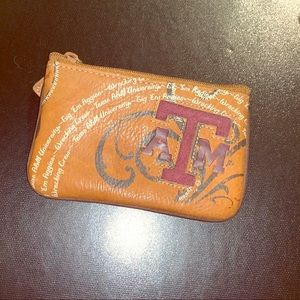 Fossil Coin Purse - Texas A&M - Texas Aggies